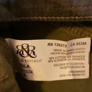 Rock & Republic Shorts - Distressed Camo shorts